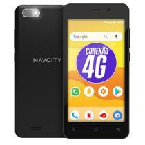 """Smartphone celular navcity np 852 4g tela 5"""" com pelicula vidro -"""