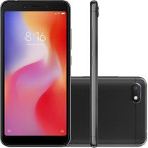Smartphone celular redmi 6a 32gb quad core 13mp selfie 5mp preto