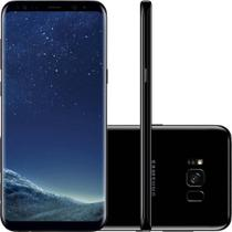 "Smartphone Desbloqueado Samsung Galaxy S8 Preto 64GB Dual Chip, Tela 5.8"", Android 7.0, 4G, Câm. 12MP e Octa-Core - CLARO -"