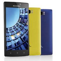 Smartphone Dual Chip 16gb 4g Quad-core X4 Preto Multilaser -