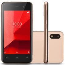 Smartphone e lite p9100 dourado  multilaser -