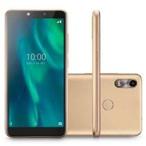 Smartphone f p9131 dourado  multilaser -