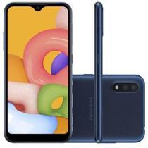 Smartphone galaxy a01 azul  samsung -