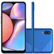 """Smartphone Galaxy A10s NEW Câmera Dupla Traseira 13MP Tela de 6,2"""" Octa Core Azul Absurdo - Samsung"""