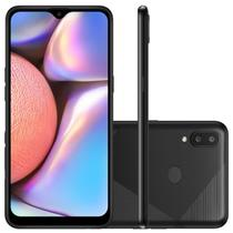 "Smartphone Galaxy A10s NEW Câmera Dupla Traseira 13MP Tela de 6,2"" Octa Core Preto Absurdo - Samsung"