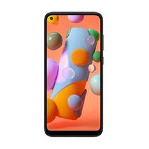 """Smartphone galaxy a11 64gb preto 64gb/3gb/6.4""""/13mp/8c 1.8ghz/4000mah  samsung -"""