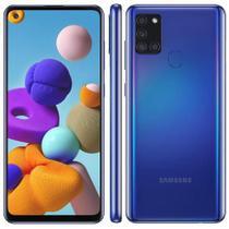 Smartphone galaxy a21s 64gb azul  samsung -
