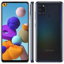 Smartphone galaxy a21s 64gb preto  samsung -