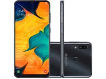 "Smartphone Galaxy A30 64GB, 4GB RAM, 6,4"", Câmera Dupla, Preto - Samsung -"