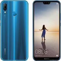 Smartphone Huawei P20 lite 4GB Ram Tela 5.84 32GB Camera dupla 16+2MP - Azul -