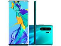 "Smartphone Huawei P30 Pro 256GB Aurora 4G 8GB RAM - Tela 6,47"" Câm. Quadrupla + Câm. Selfie 32MP"