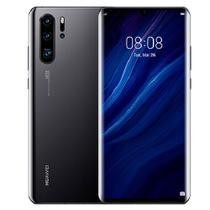 """Smartphone Huawei P30 Pro Vog L29 256Gb / 4G / Dual Sim / Tela 6.47"""" / Câmeras 40Mp + 20Mp + 8Mp E 32Mp - Preto -"""