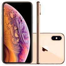 Smartphone iphone xs max 64gb dourado