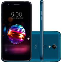 "Smartphone K11+ LMX410BCW 32GB 5.3"" Dual Chip 4G Azul LG -"