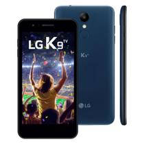 "Smartphone K9 TV LMX210BMW 16GB 5.0"" Dual Chip Azul - LG -"