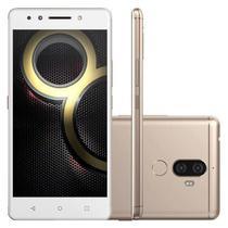 Smartphone Lenovo K8 Plus 32GB Dual Chip - Dourado -