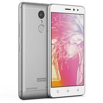"""Smartphone Lenovo Vibe K6 K33a48 Dual Sim 16gb Tela De 5.0"""" 13mp/8mp Os 6.0.1 - Prata -"""
