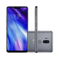 Smartphone LG G7 Thinq  64GB Dual Chip  Tela 6.1 Dual Cam Traseira 16 + 16MP - Platinum -