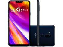 "Smartphone LG G7 ThinQ 64GB Preto 4G Octa Core - 4GB RAM Tela 6,1"" Câm. Dupla + Câm. Selfie 8MP"