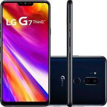 "Smartphone LG G7 Thinq G710EMW 64GB, 4GB RAM, Câmera Traseira 16MP e Frontal 8MP, Tela 6.1"" Preto -"