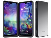 "Smartphone LG G8X 128GB Preto 4G Octa-Core - 6GB RAM 6,4"" Câm. Dupla + Selfie 32MP Dual Chip"