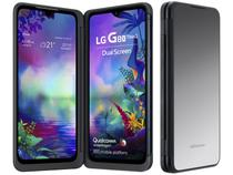 "Smartphone LG G8X 128GB Preto 4G Octa-Core - 6GB RAM Tela 6,4"" Câm. Dupla + Selfie 32MP"