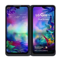 """Smartphone LG G8X Tela 6,4"""" Dual Chip 6GB RAM 128GB Memória Dual Screen Câmera Frontal 32MP Preto -"""