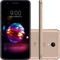 "Smartphone LG K11+ 32GB Dourado 4G Octa Core - 3GB RAM Tela 5,3"" Câm. 13MP + Selfie 5MP Dual Chip"