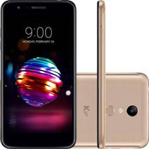 """Smartphone LG K11+ 32GB Dual Chip Android 7.0 Tela 5.3"""" Octa Core 1.5 Ghz 4G Câmera 13MP - Dourado -"""