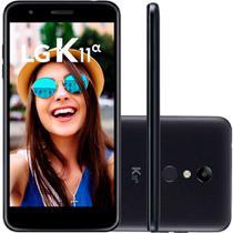 "Smartphone LG K11 Alpha 16GB Dual Chip Tela 5.3"" Câmera 8MP Frontal 5MP Android 7.1 Preto -"