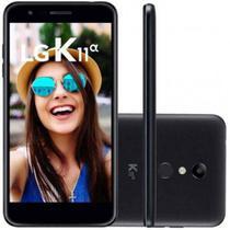 Smartphone LG K11 Alpha 16GB Dual Chip Tela 5.3 Câmera 8MP Frontal 5MP Android 7.1 Preto -