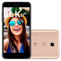 Smartphone LG K11 Alpha, Dual Chip, 16GB + Micro SD 16GB, Dourado - LMX410 -