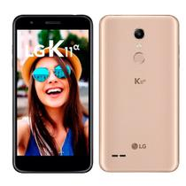 "Smartphone LG K11 Alpha, Dual Chip, Dourado, Tela 5.3"", 4G+WiFi, Android 7.1, 8MP, 16GB -"