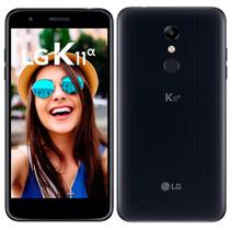 "Smartphone LG K11 Alpha, Dual Chip, Preto, Tela 5.3"", 4G+WiFi, Android 7.1, 8MP, 16GB -"