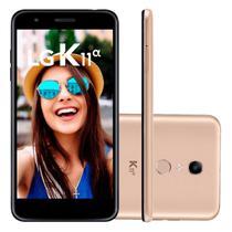 Smartphone LG K11 Alpha LMX410BTW Dourado -
