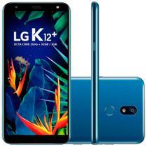Smartphone LG K12+ 32GB Dual Chip 4G Tela 5.7'' Câmera Principal 16MP Frontal 8MP Android 8.1 Azul -