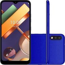 "Smartphone LG K22+ 64GB Dual Tela 6.2""  4G Câmera 13MP+2MP - Azul -"