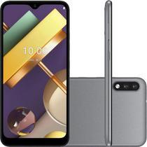 """Smartphone LG K22 Tela 6,2"""" 2GB Ram 32GB Memória Qualcomm QM215 Quad Core Câmera 13MP Titânio -"""