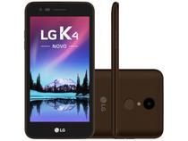 """Smartphone LG K4 Novo 8GB Marrom Dual Chip 4G - Câmera 8MP + Selfie 5MP Tela 5"""" Proc. Quad Core"""