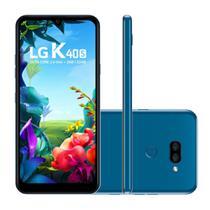 "Smartphone LG K40S 32GB 3GB RAM Câmera Dupla 13MP + 5MP Frontal 13MP Tela 6,1"" Android 9.0 - Azul -"