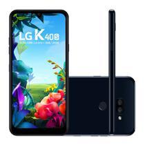 "Smartphone LG K40S 32GB 3GB RAM Câmera Dupla 13MP + 5MP Frontal 5MP Tela 4.0"" Android 9 - Preto -"