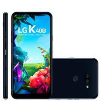 Smartphone LG K40s 32GB Android 9 Tela 6.1 2.0GHz 4G Câmera 13+5MP -