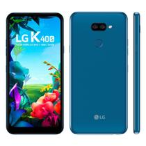 "Smartphone LG K40s 32GB Dual Chip Android 9 Tela 6.1"" Octa Core 2.0GHz 4G Câmera 13+5MP -"