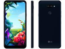 "Smartphone LG K40S 32GB Preto 4G Octa-Core - 3GB RAM 6,1"" Câm. Dupla + Câm. Selfie 13MP"
