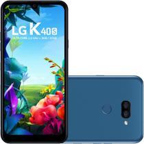 Smartphone Lg K40S Dual Chip Android 9.0 Tela 6.1 4G 32 GB Câmera 13MP -