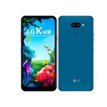 "Smartphone LG K40S, Dual Chip, Azul, Tela 6,1"", 4G+Wi-Fi+NFC, Android 9.0, Câmera Traseira 13MP+5MP e Frontal 13MP, 32GB -"