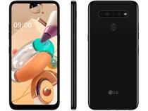 "Smartphone LG K41S 32GB Preto 4G Octa-Core - 3GB RAM Tela 6,55"" Câm. Quádrupla + Selfie 8MP"