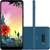 """Smartphone LG K50s 32GB Dual Chip Android 9.0 Tela 6.5"""" Octa Core 2.0GHz 4G 13MP + 5MP + 2MP - Azul -"""