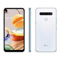 Smartphone LG K61 128GB 4GB RAM Branco, Câmera Quádrupla 48MP + 8MP + 5MP + 2MP Frontal 16MP Tela 6, - Samsung
