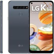 Smartphone LG K61, 128GB, Câmera Quádrupla, Titânio -